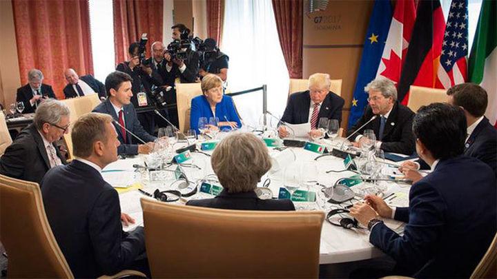 Estados Unidos impide el acuerdo sobre cambio climático en el G7