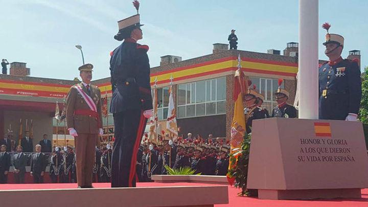 Los Reyes presiden el desfile de las Fuerzas Armadas en Guadalajara