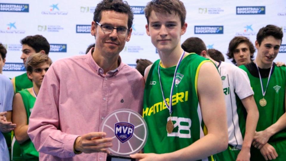 El Colegio Maristas de Chamberí gana la Copa Colegial 2017 de baloncesto