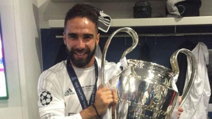 """Carvajal: """"Estamos en un ciclo ganador y ojalá logremos otra Champions"""""""