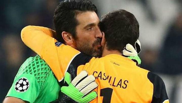 """Casillas: """"Voy con el Madrid... pero Buffon merece una Champions"""""""