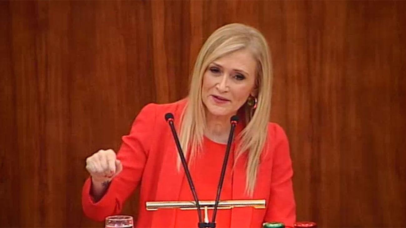 Telemadrid emite en directo la comparecencia de Cristina Cifuentes en la Comisión de Corrupción