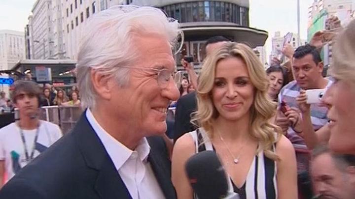 Richard Gere presenta en Madrid 'Norman', su última película
