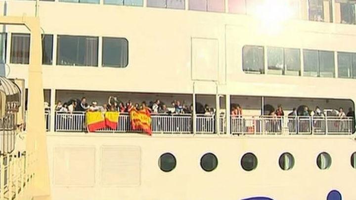 Rumbo a Cardiff por mar