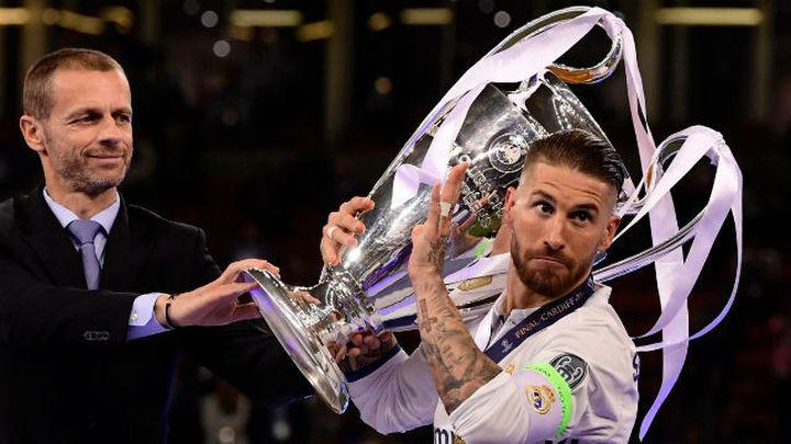 """Sergio Ramos: """"Ganar tres Champions de cuatro es de locos"""""""
