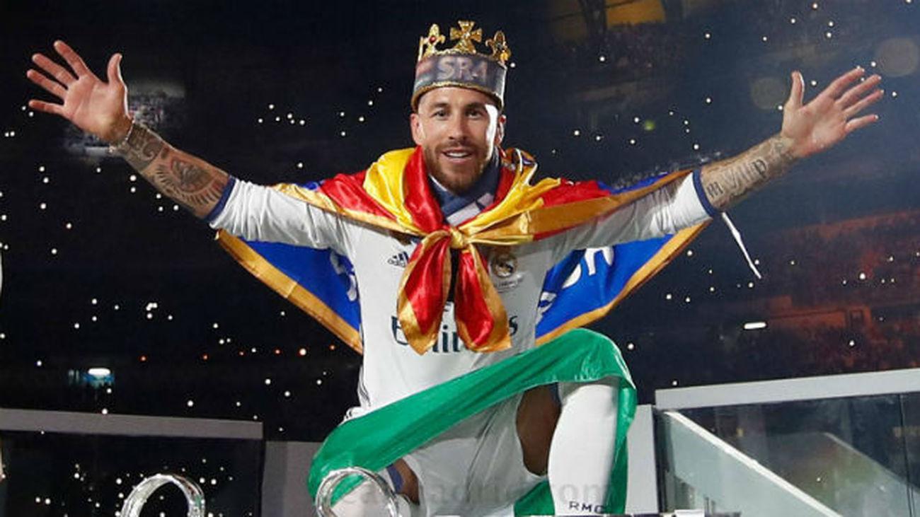 Sergio Ramos, el gran capitán