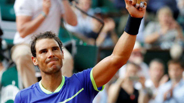 Roland Garros: Nadal y Carreño, a cuartos; Muguruza, eliminada