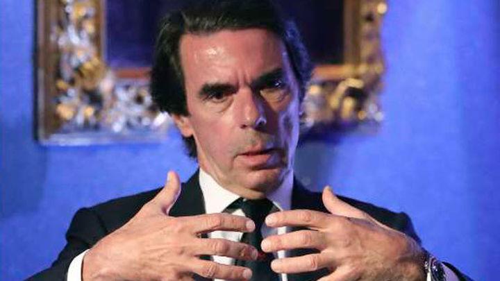 """Aznar avisa: """"La batalla contra el terrorismo se perderá si se decide mirar para otro lado"""""""