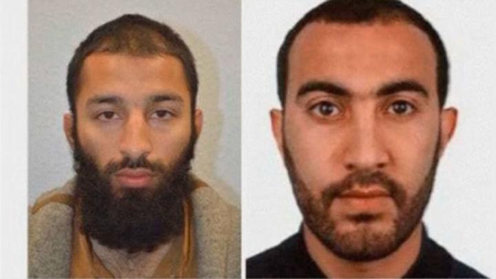 Londres: Dos terroristas identificados como Khuram Shazad y Rachid Redouane