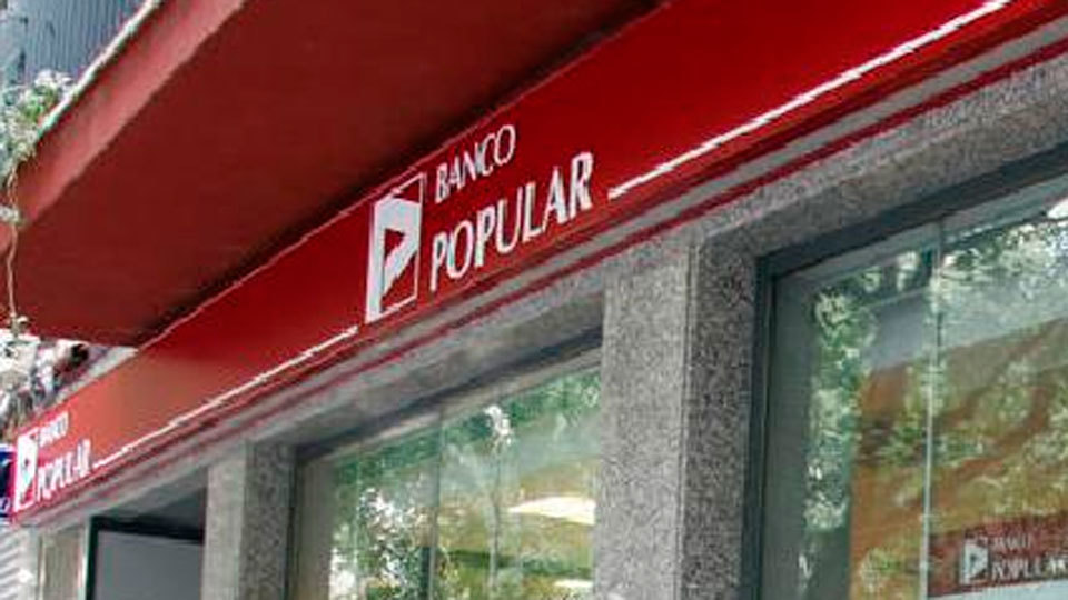 Una oficina del Banco Popular