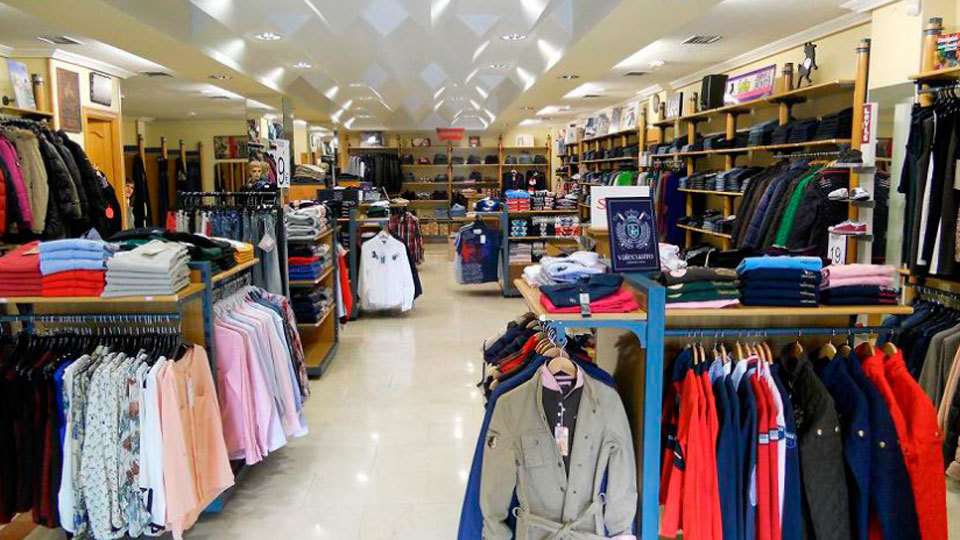 Las tiendas de ropa se han aumentado en 2016