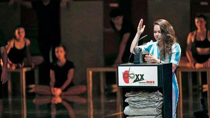 La danza de 'Oksara' y 'Caída del cielo' copa los premios Max