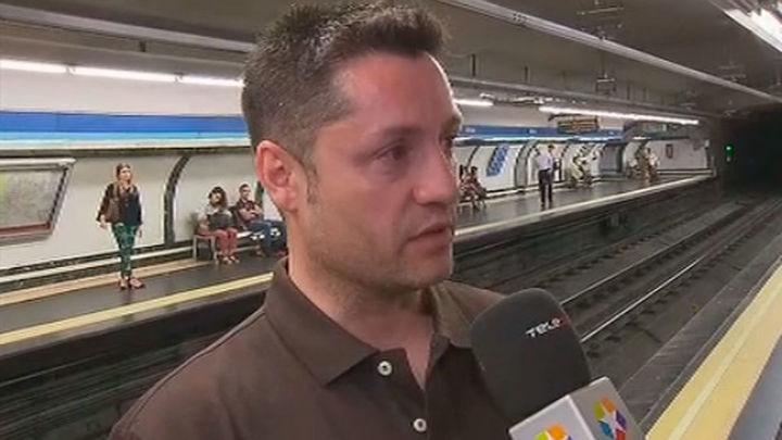Las víctimas alertan a los jóvenes de los peligros de coger el metro en marcha