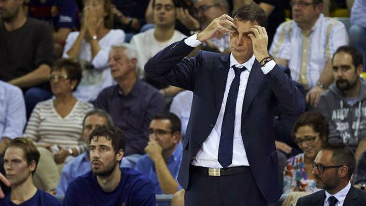 El Barça despide a Bartzokas tras el fracaso de esta temporada