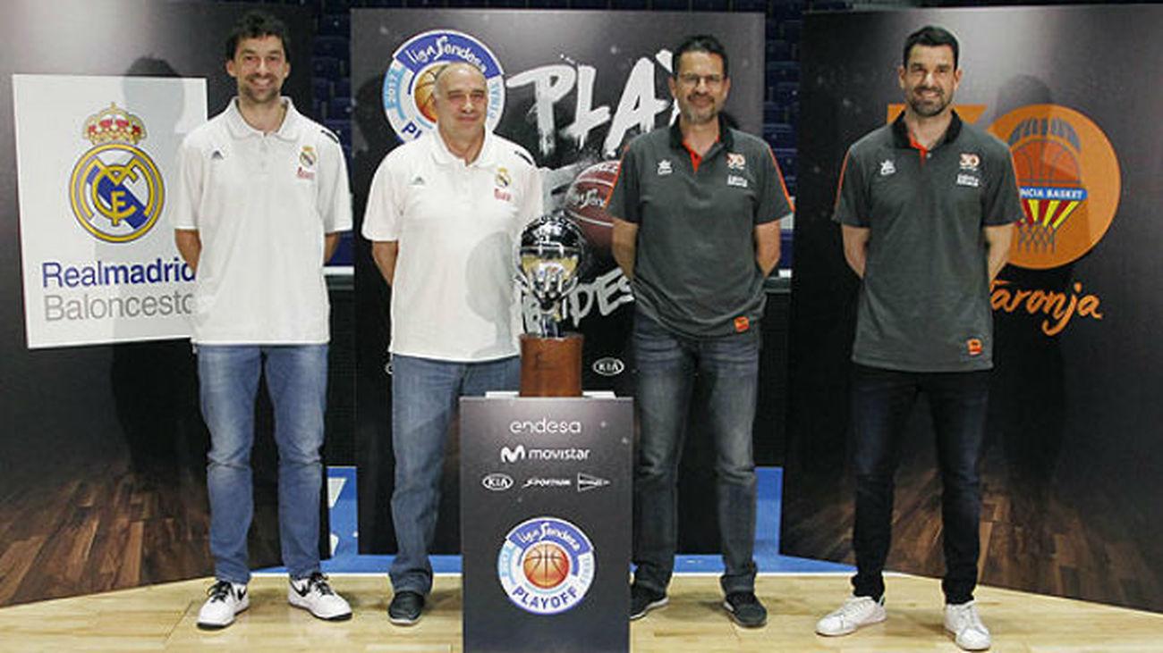 El Real Madrid inicia la 'batalla' de la final ante el Valencia Basket