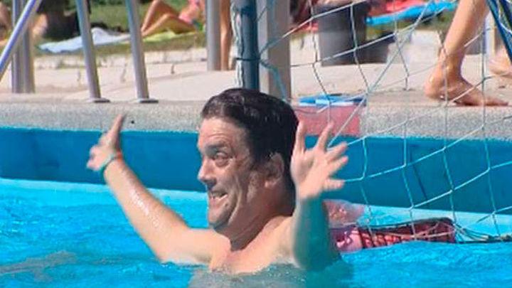 La piscina municipal de Casa de Campo permite este domingo acudir sin bañador