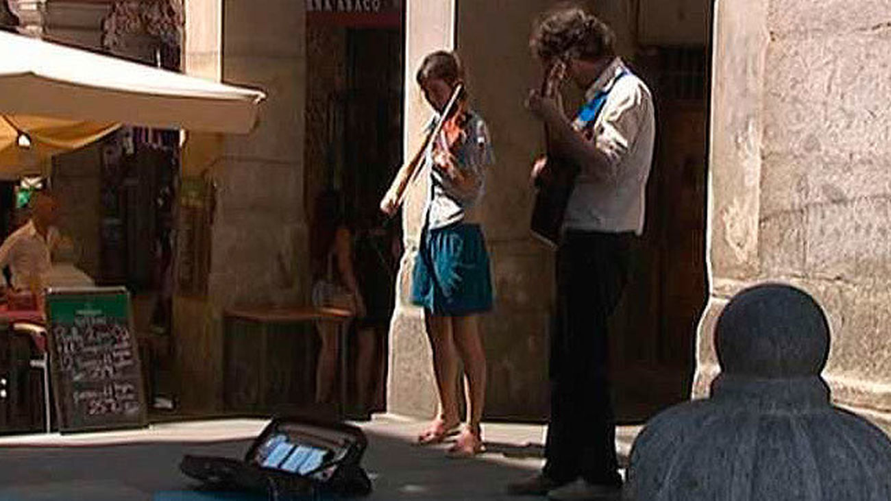 Los músicos callejeros sólo podrán tocar en Madrid hasta las 20 horas