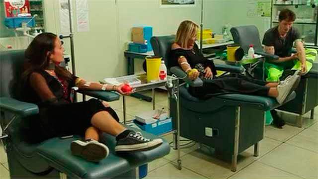 Donates de sangre