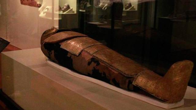 Momia del museo arqueológico nacional