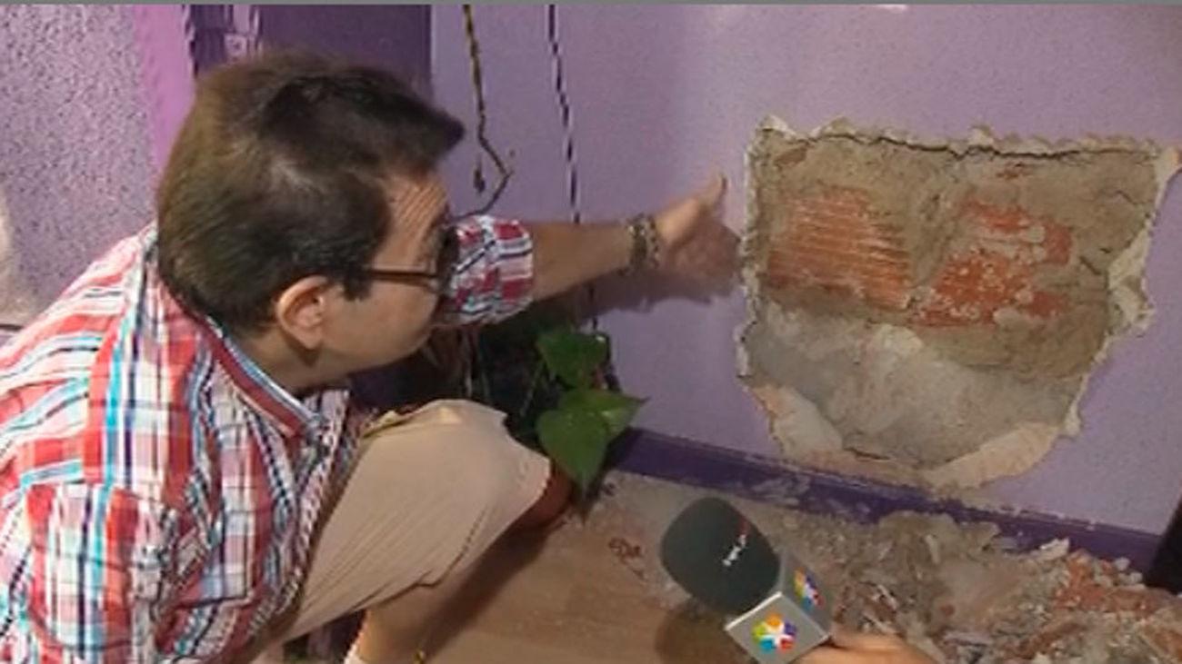Doble butrón en el Paseo de Extremadura para robar una joyería