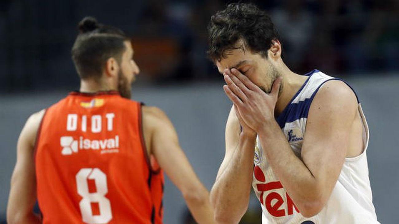 81-64. Un Real Madrid irreconocible, tumbado por el Valencia