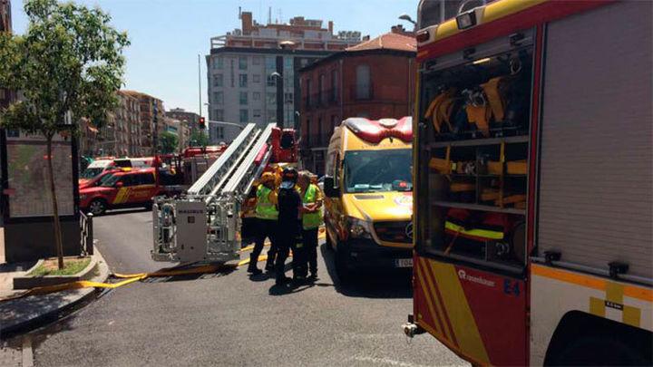 Una mujer de 94 años muere en un incendio en una vivienda en Madrid