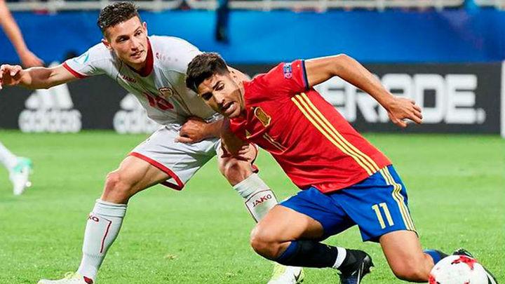 5-0. Marco Asensio maravilla en el estreno soñado