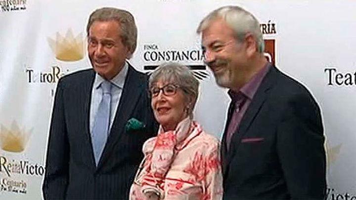 Concha Velasco y Arturo Fernández distinguidos con la butaca de oro del Teatro Reina Victoria