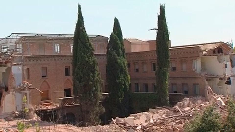 La Comunidad paraliza el derribo de un convento