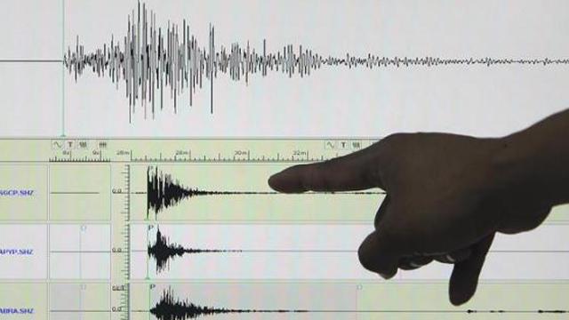 Imágen de un sismógrafo