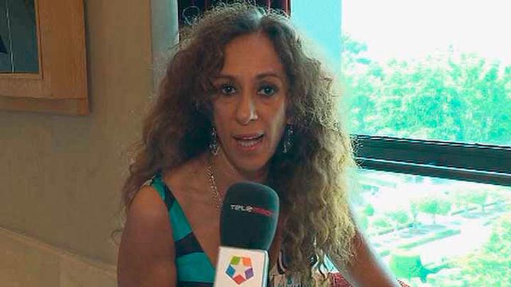 Rosario Flores prepara su concierto en el Teatro Real