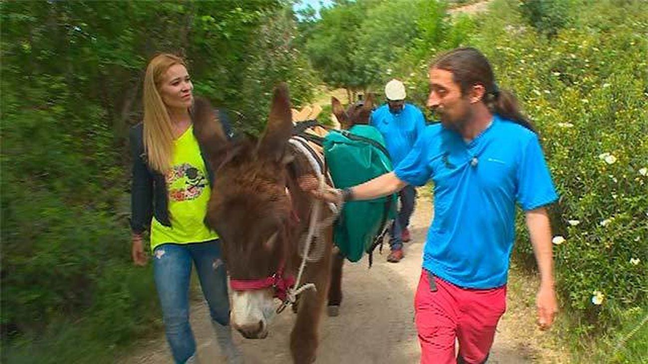 Rutas en burro en Matalpino