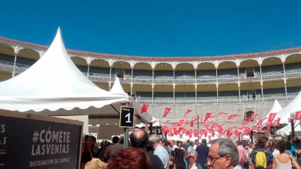La gastronomía madrileña en Las Ventas