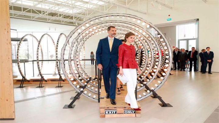 Los Reyes inauguran el nuevo Centro Botín de Santander