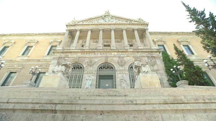 La Biblioteca Nacional recibe un manuscrito de Sánchez Mazas