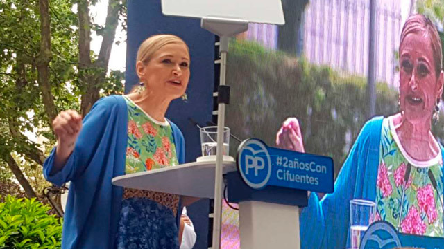 Cifuentes hace balance