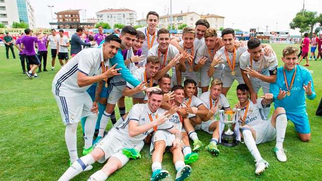El Juvenil A gana la Copa del Rey y hace historia