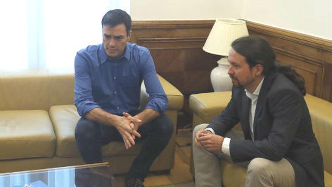 Sánchez y Iglesias ven margen para un proyecto de mayoría alternativa