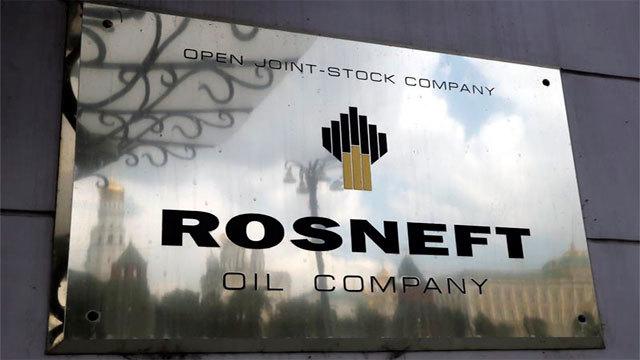 La empresa petrolera rusa, 'Rosneft' en su sede en Moscú