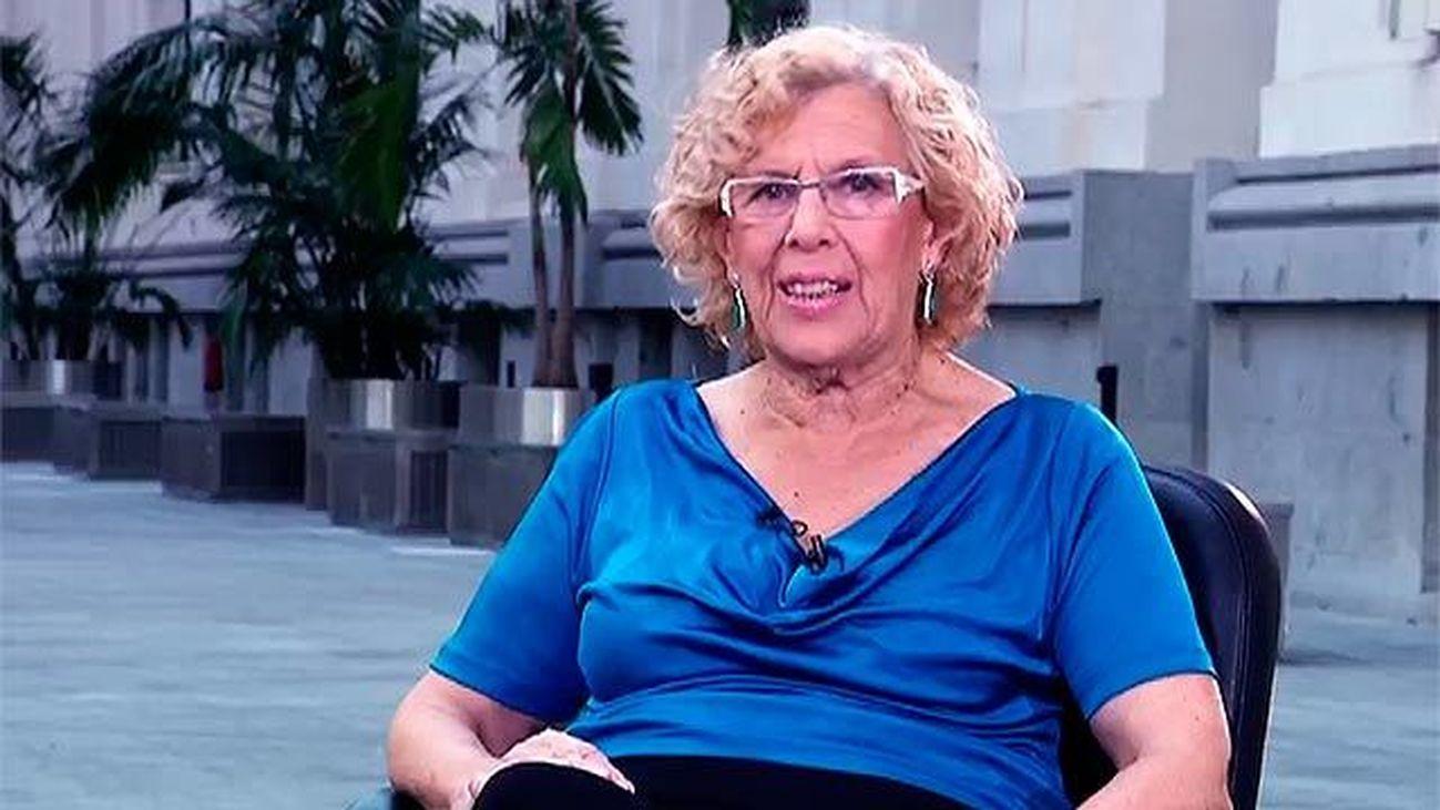 """Manuela Carmena: """"Madrid es la capital de la libertad"""""""