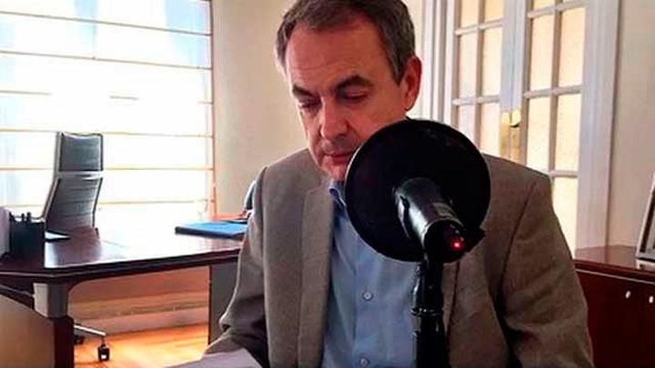 Llamada inesperada en el Taxi de la Onda de Antonio Catalán a su amigo, el ex presidente Rodríguez Zapatero