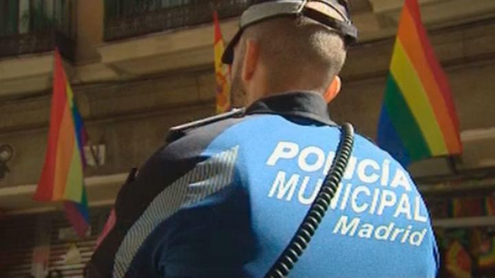 Excepcionales medidas de seguridad en Madrid ante el pregón del World Pride
