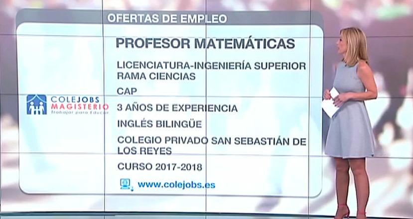 Se buscan profesores de matemáticas para el verano