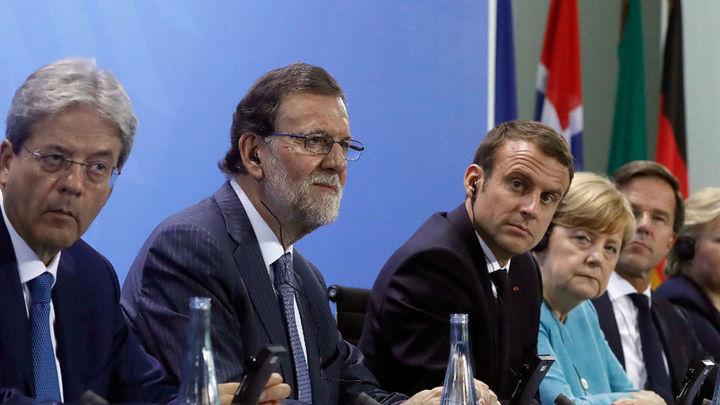 Rajoy defiende una posición unitaria europea en favor del libre comercio