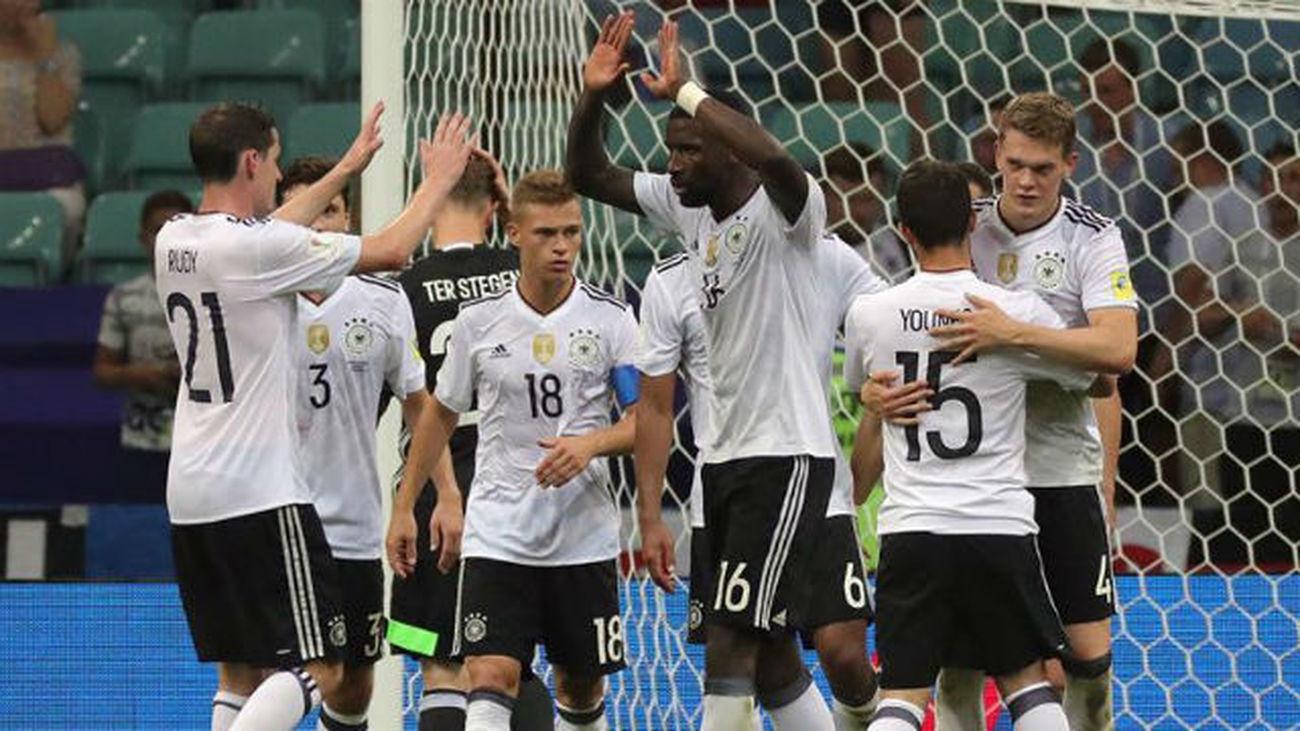 4-1. Alemania gana a una México que mereció más y jugará la final con Chile
