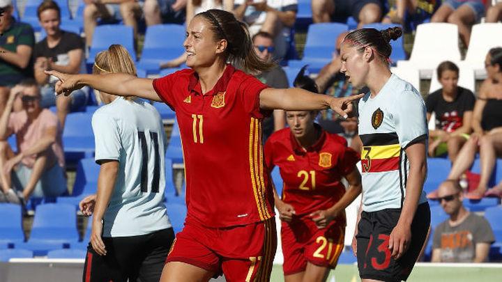 7-0. España golea a Bélgica en su último amistoso antes del Europeo