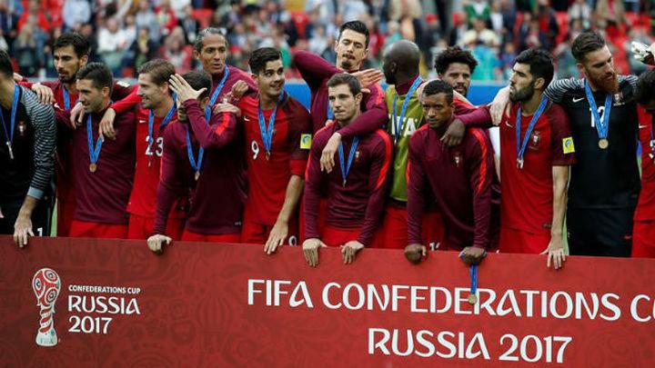 2-1. Portugal, tercera tras remontar a México en la prórroga