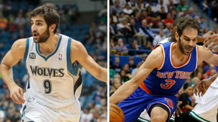Calderón, a los Cavaliers; Ricky, a los Jazz