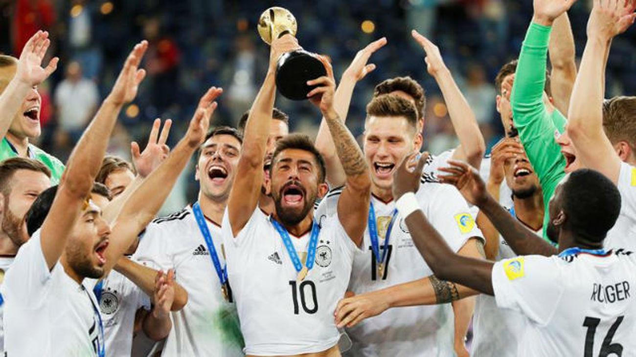 1-0. Alemania conquista la Copa Confederaciones tras vencer a Chile
