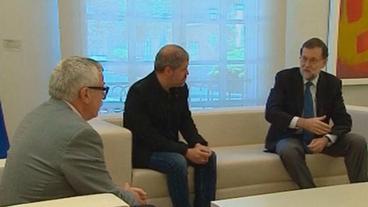 Primer encuentro entre Rajoy y el nuevo secretario general de Comisiones Obreras